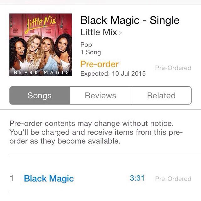 #BlackMagic is now out for pre-order ! //