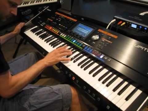 Roland Jupiter-80 Synthesizer Performance