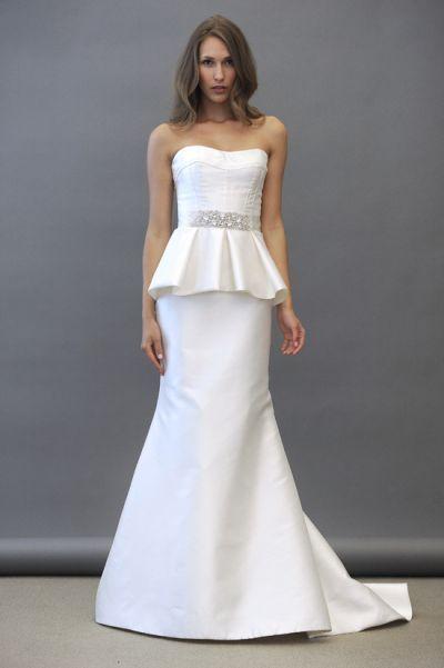 Peplums Wedding Dresses Alvina Valenta Yay Or Nay Undecided
