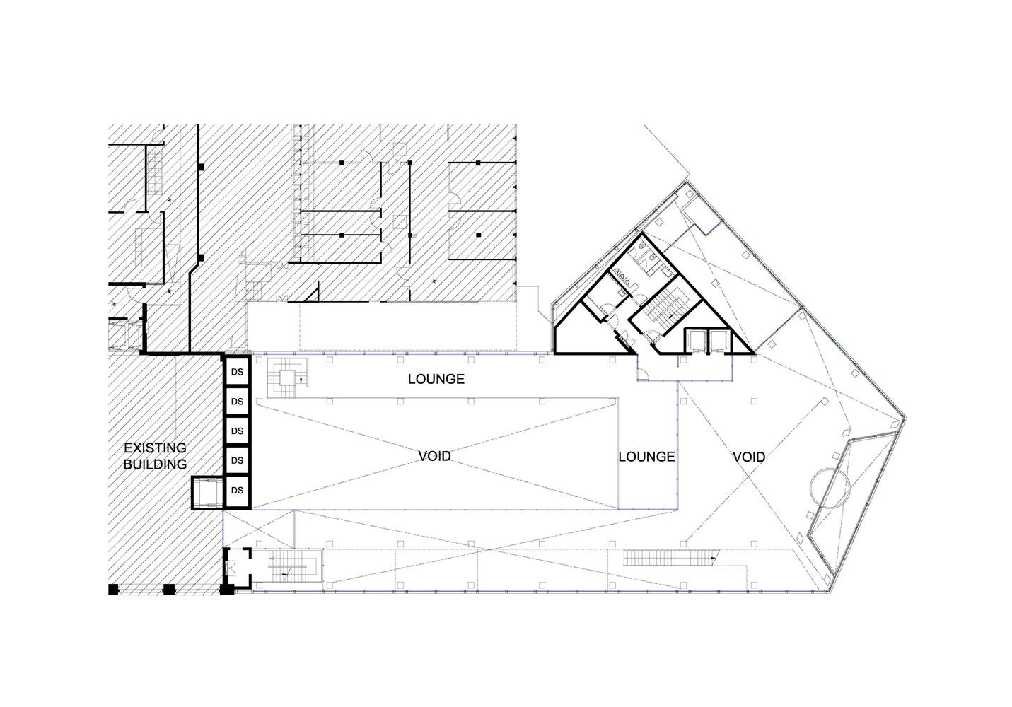 Mezzanine Floor Plans gallery of tamedia office building / shigeru ban architects - 39