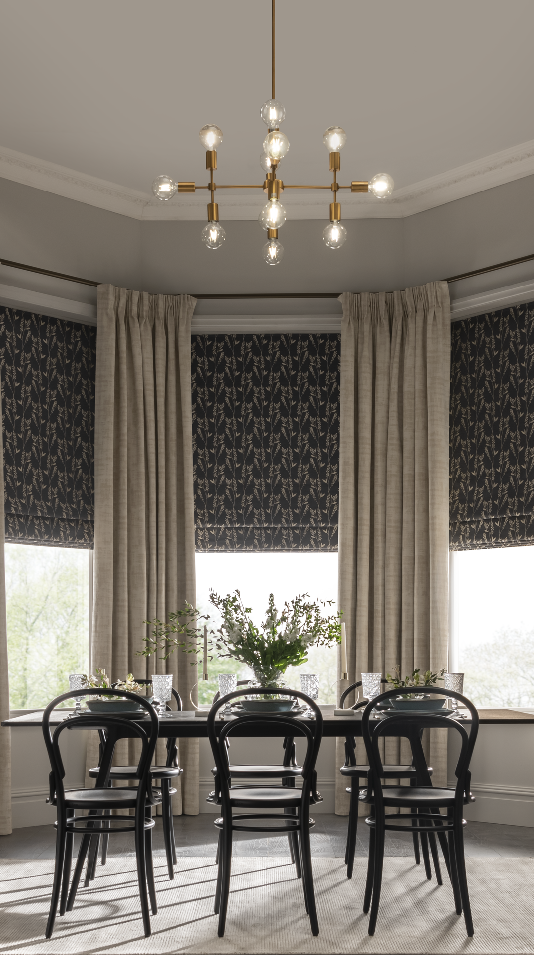 Classic Dining Room Ideas   Dining room curtains, Classic dining ...