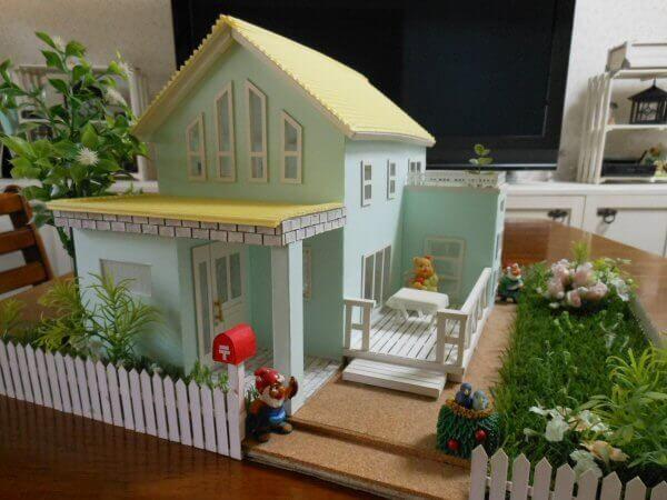 オール100均で作る住宅模型 Diyハンドメイド作品 住宅模型 住宅 作る