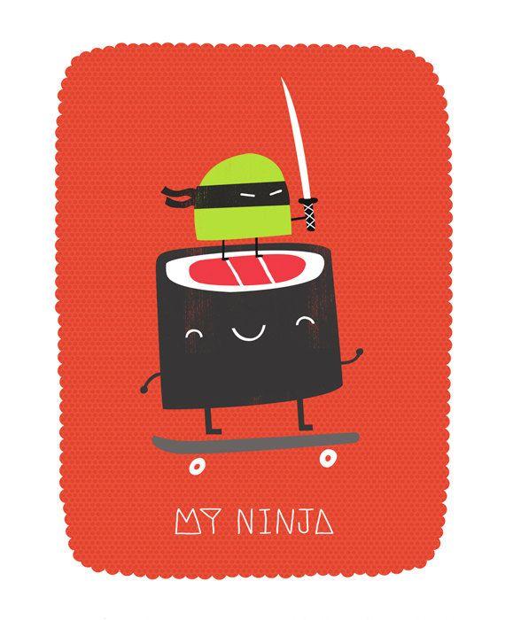 My Ninja by Colin Walsh
