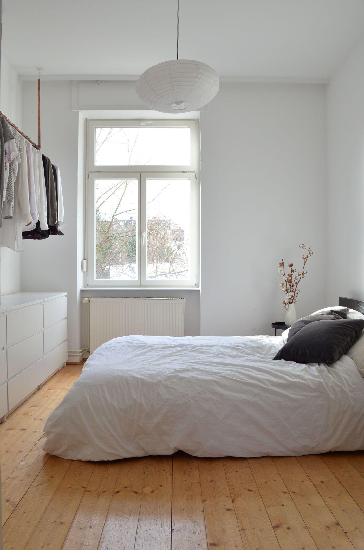 Die Schonsten Ideen Fur Dein Ikea Schlafzimmer Minimalist Home Bedroom Decor Home