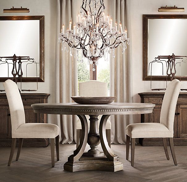 Circular Dining Room: St. James Round Dining Table