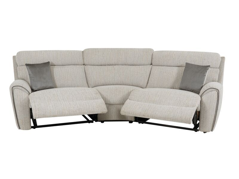La Z Boy Pittsburgh 4 Seater Curved Manual Recliner Sofa