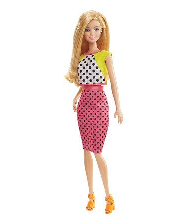 Love this Dolled Up Dots Fashionista Barbie Doll on #zulily! #zulilyfinds