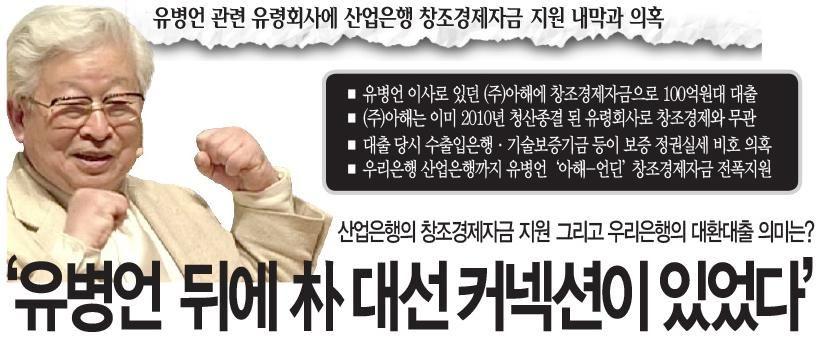 [철저취재] 유병언 관련 유령회사에 산업은행 창조경제자금 지원 내막과 의혹  http://www.amn.kr/sub_read.html?uid=20020…