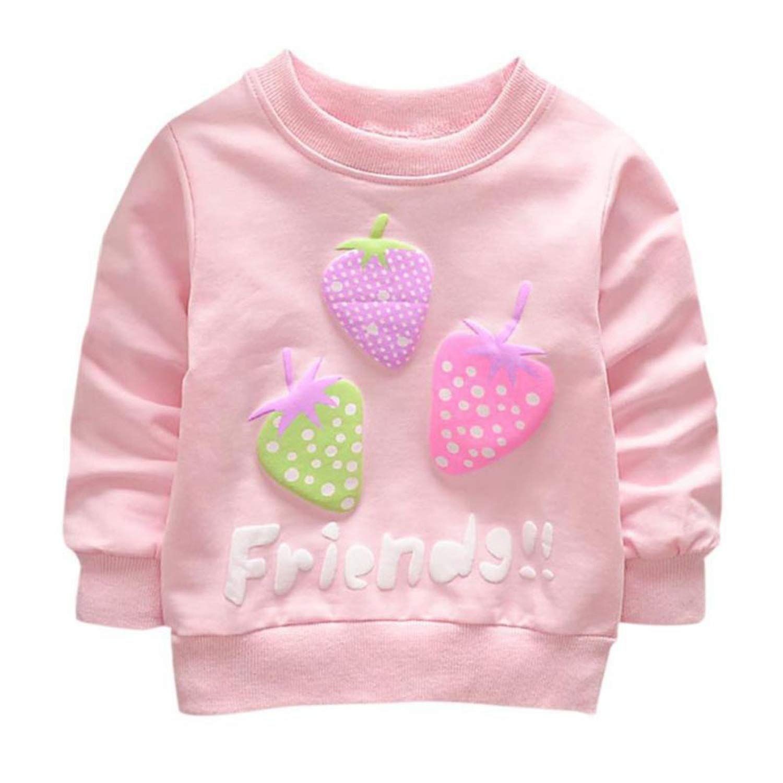 Baby Boy Girl Strawberry Pattern Sweater Long Sleeve Sweater, #Ad #Girl, #Strawberry, #Baby, #Boy