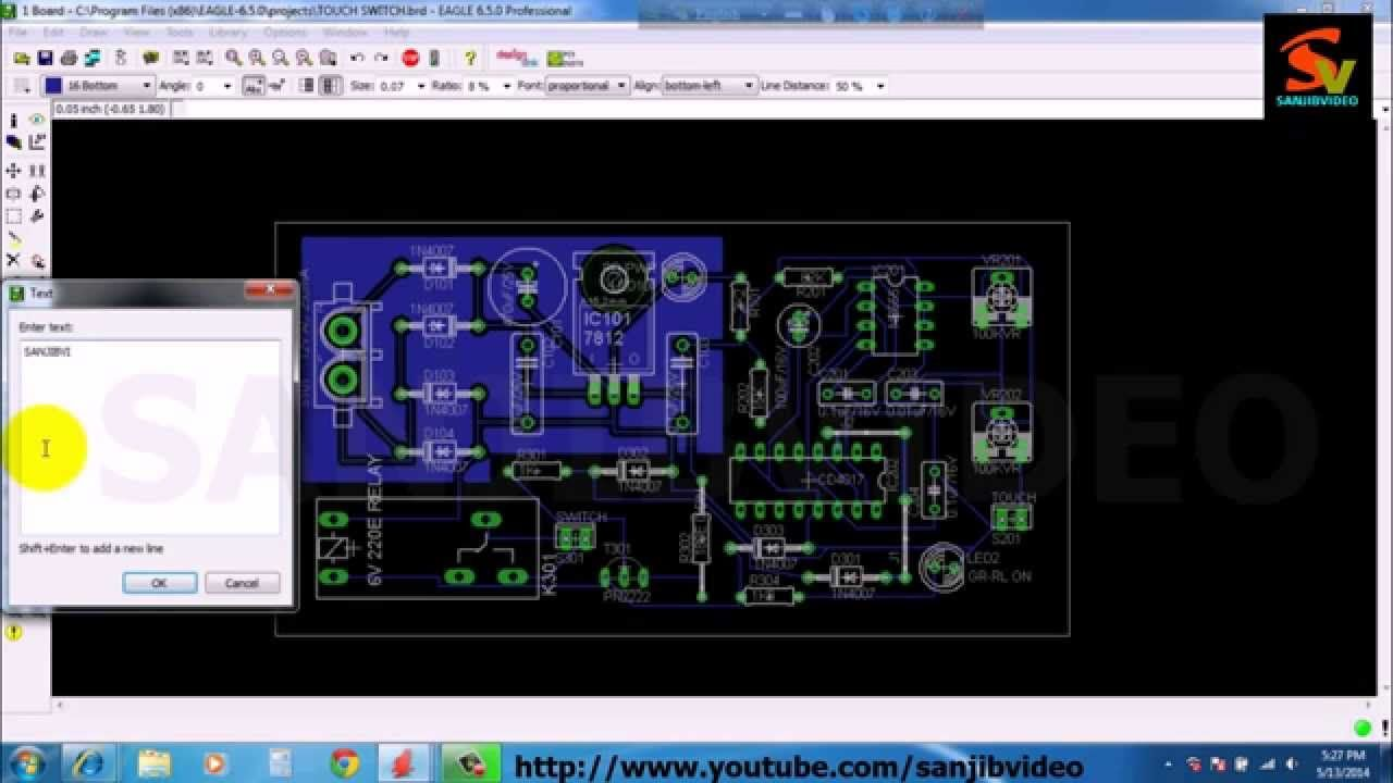 Eagle 11 Of 12 Pcb Layout Furnising How To Design Circuit