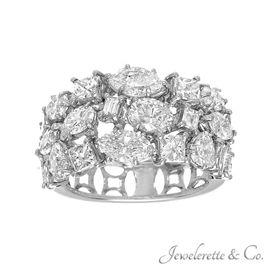 "Diamond ""All Cuts and Shapes"" Fine Fashion Jewelry Band."