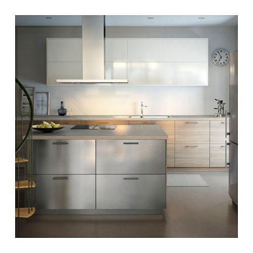 GREVSTA Tür, Edelstahl | Büros, Küche und Möbel