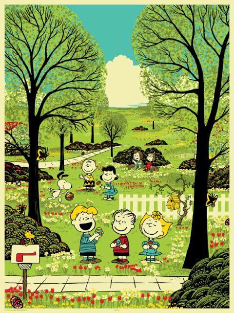 #CoolArt: 'Peanuts Seasons' by Chris Thornley (Rai