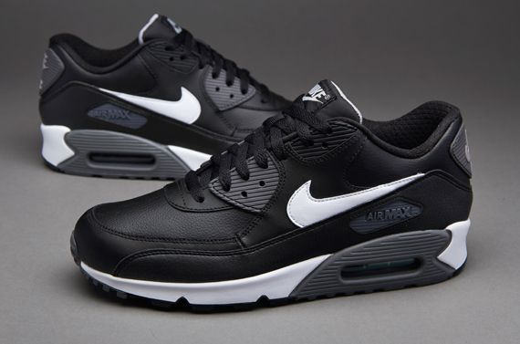 air max 90 grey black