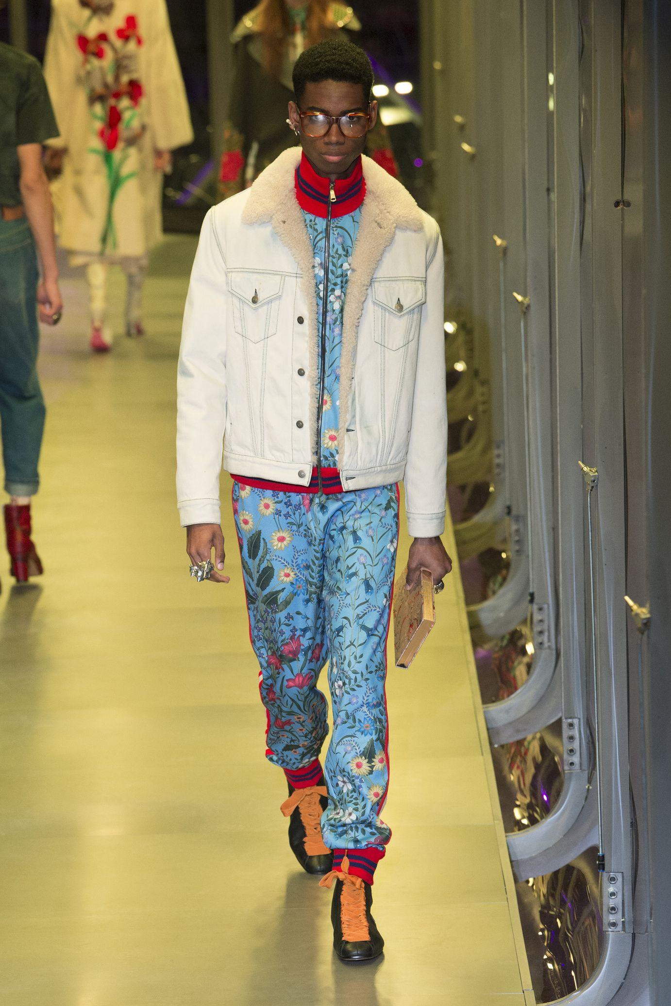 8a3725bd15ae6  DéfiléGucci  fashion  Koshchenets Défilé Gucci prêt-à-porter femme automne-hiver  2017-2018 100