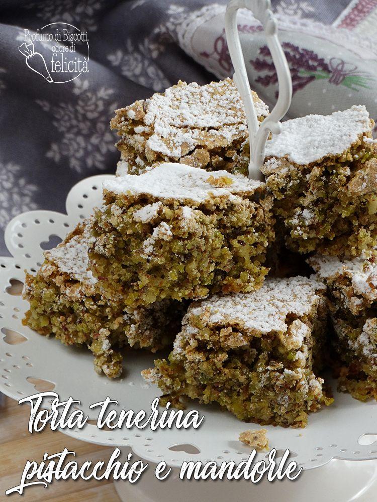 Photo of Torta tenerina pistacchio e mandorle • Profumo di biscotti, odore