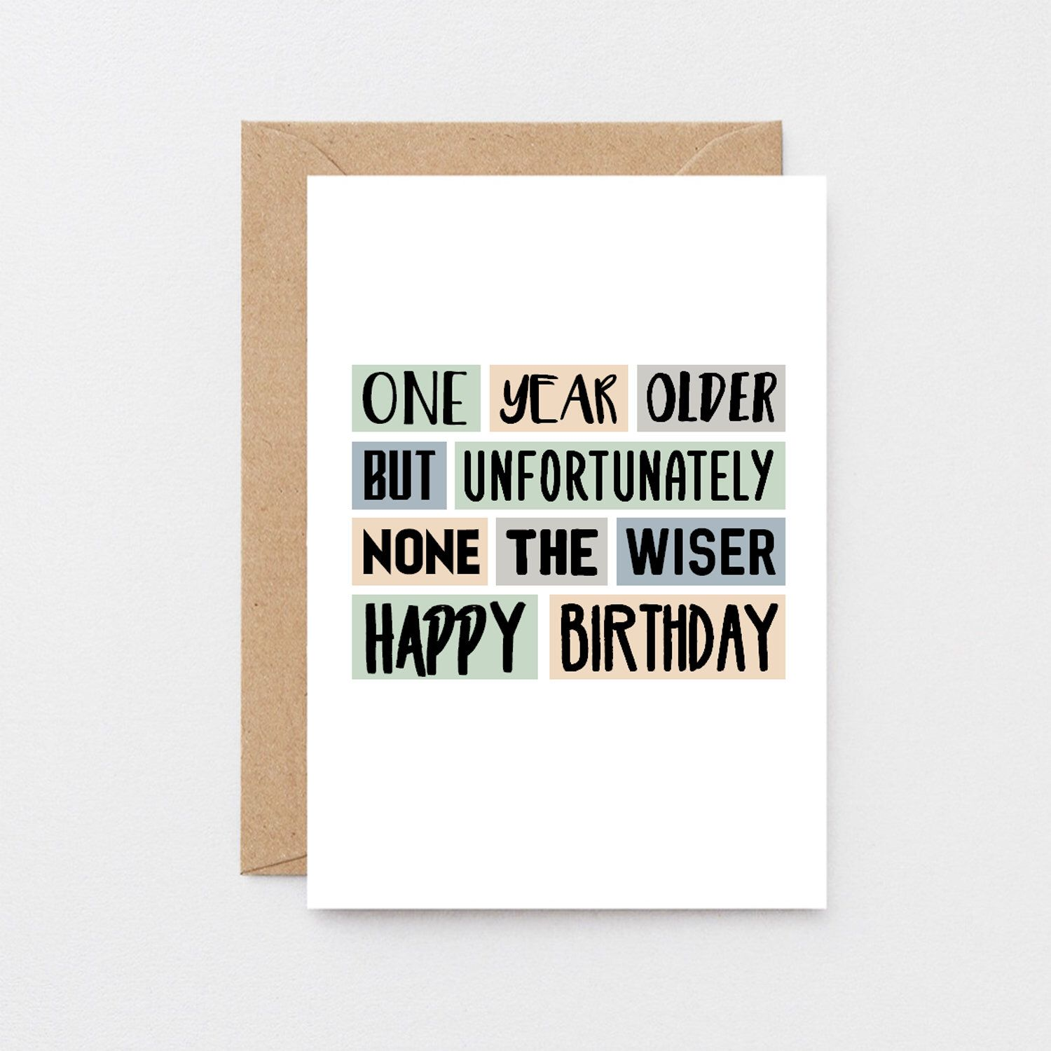 Funny Birthday Card For Friend Happy Birthday Brother