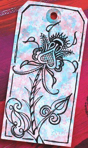 Art Tag - Floral Fantasy 7 | Flickr - Photo Sharing!