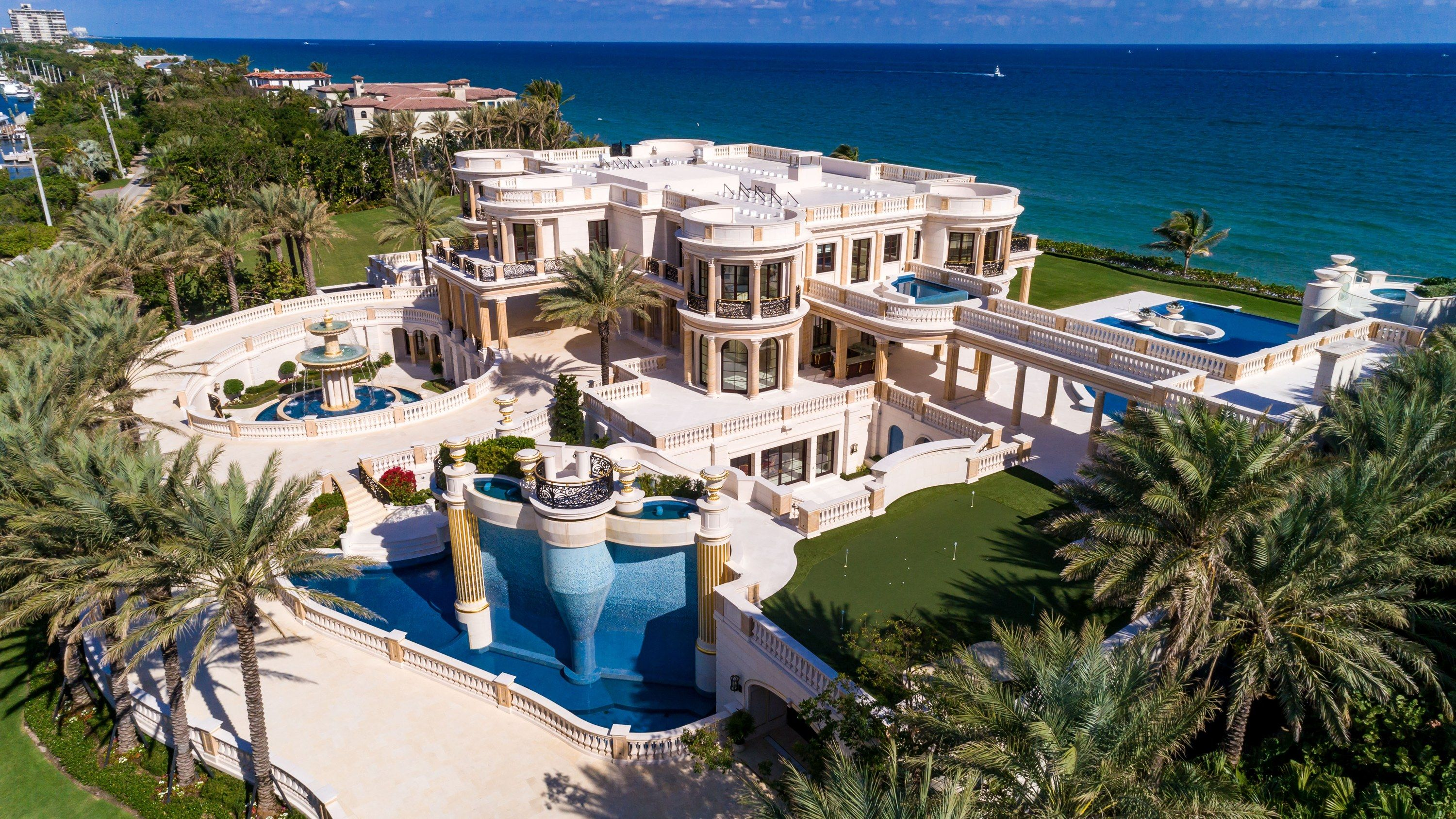 One Of America S Most Expensive Homes Goes To Auction Florida