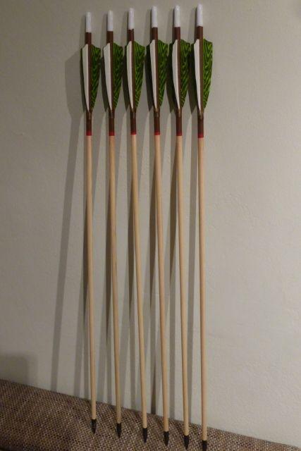 Holzpfeile selber machen/ Anleitung