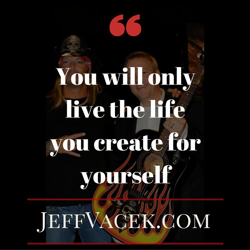 Are you creating the life you want? quote success life