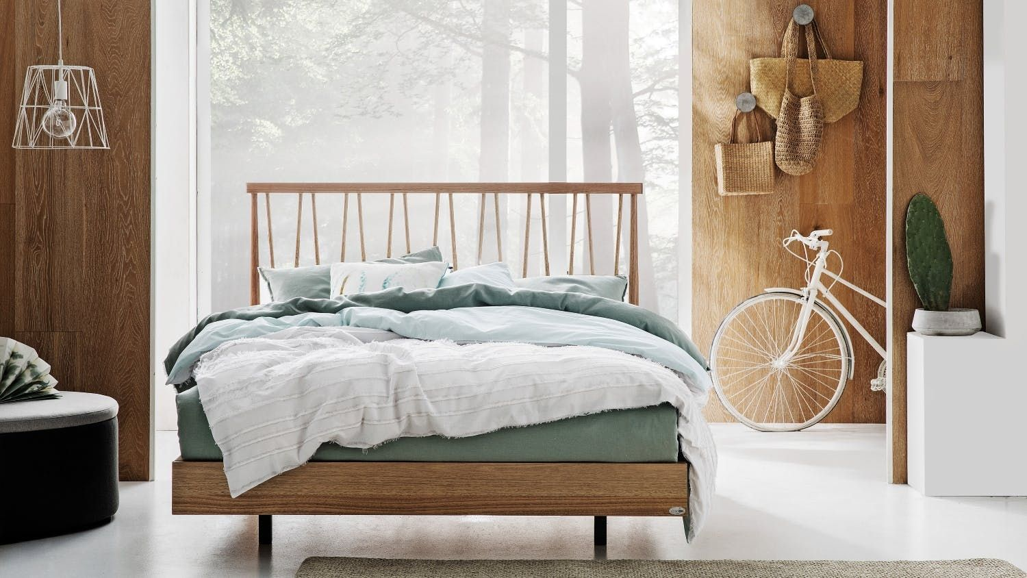Refresh Your Bedroom With The Natural Beauty Of Timber The