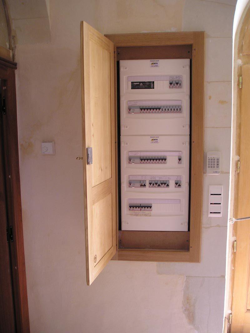 Armoire Pour Cacher Tableau Electrique placard électrique (avec images) | cacher compteur