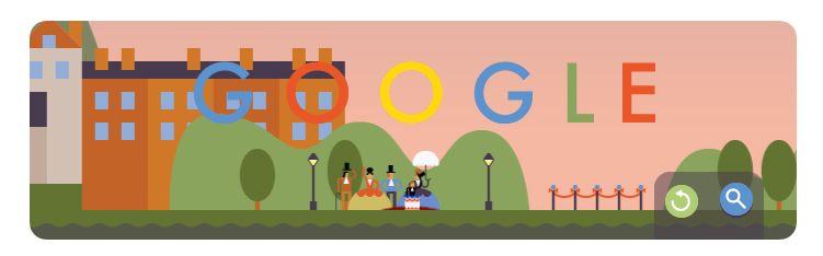 Hoy se celebra el primer lanzamiento desde paracaídas #GoogleDoodle ¿Quién se ha lanzado?