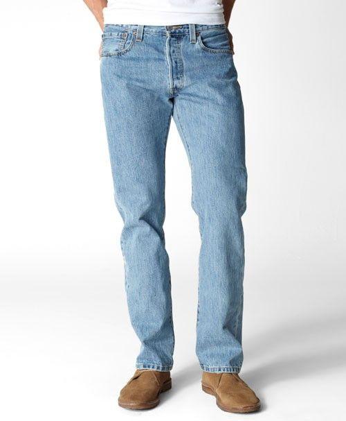 ffb05528 Levis 501 Original Fit Jeans Light Stonewash | Original Levis 501 ...