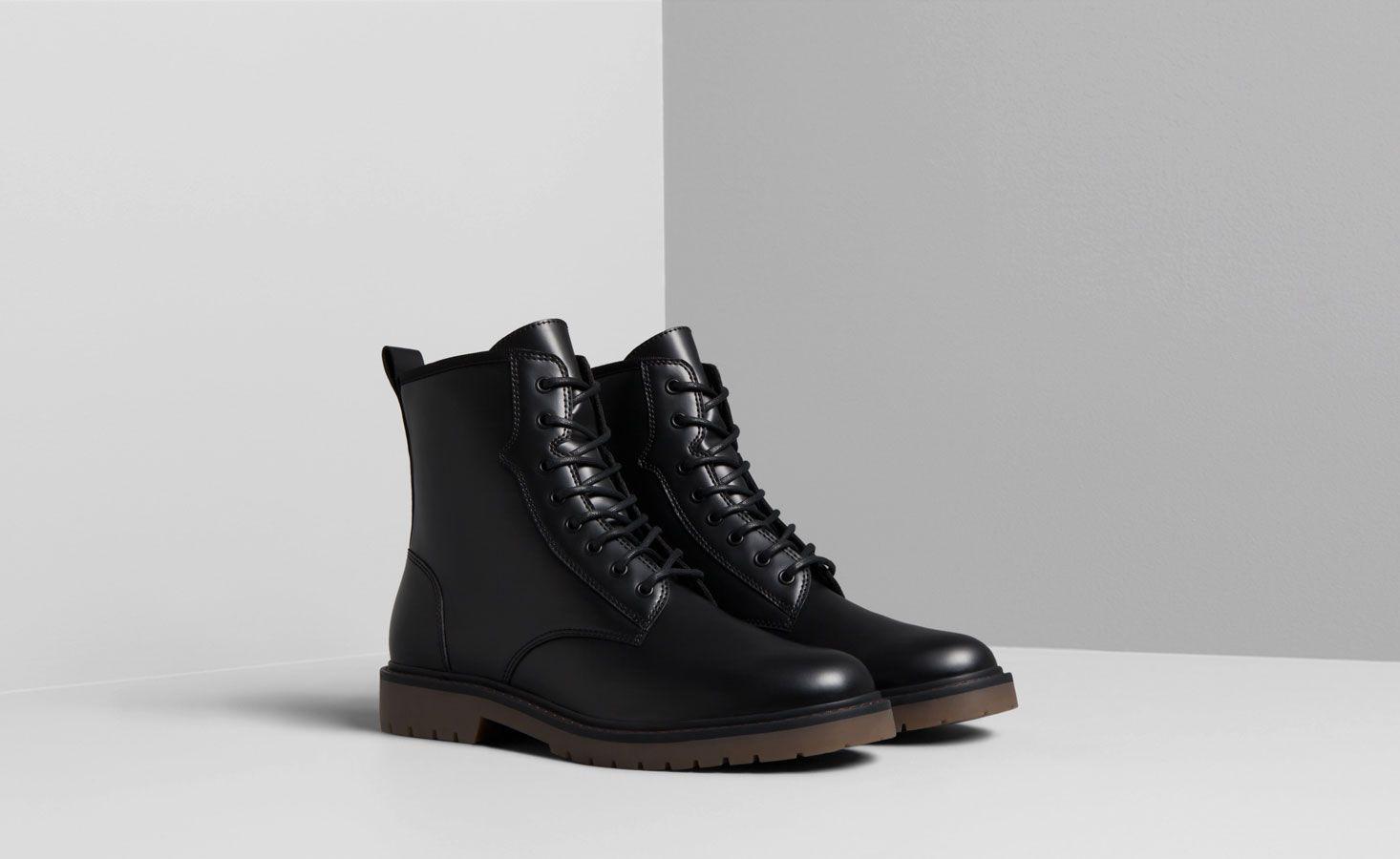 Zapatos Hombre Hombre Pull Bear Colombia Zapatos Hombre Botas Hombre Negras Calzado Hombre
