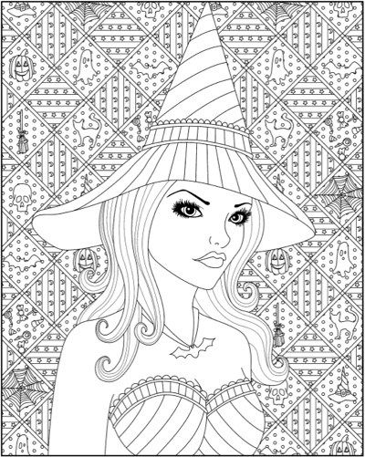 halloween therapy coloring pages - photo#48