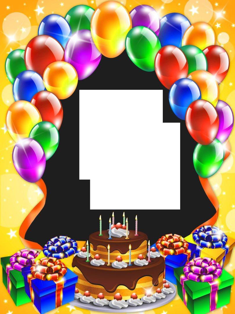 25+ Brilliant Picture of Birthday Cake Photo Frame Gif
