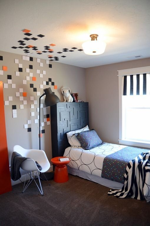 44 Creative Decoration to Make A Colorful Boys Bedroom images