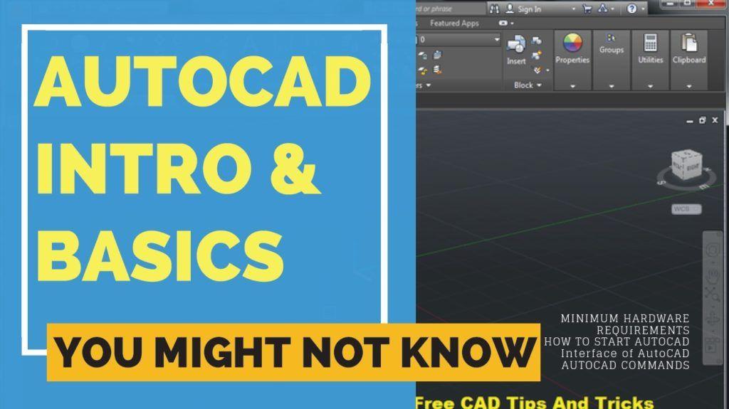basics of autocad, basics of autocad mechanical, autocad