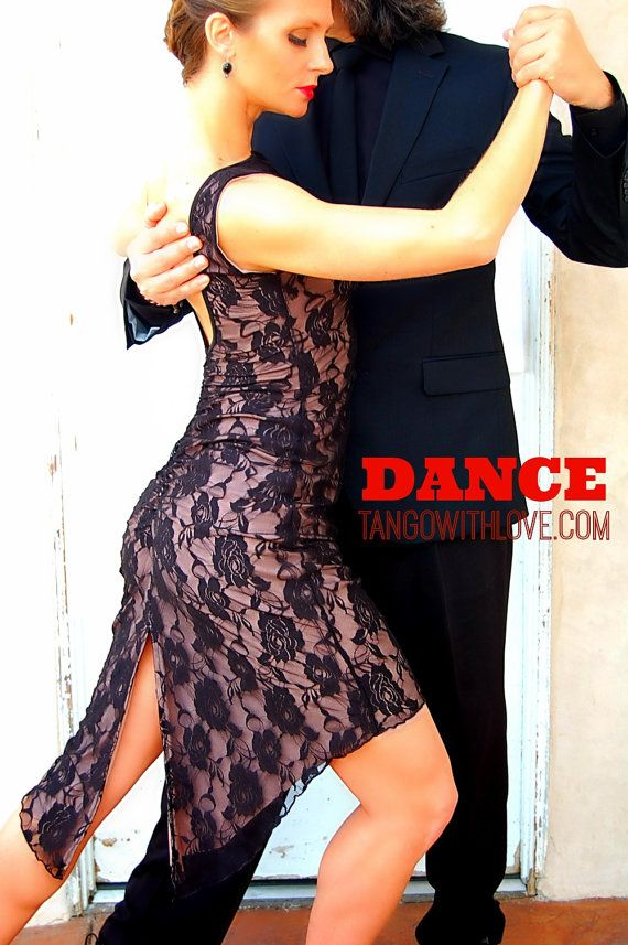 Robe de tango dentelle