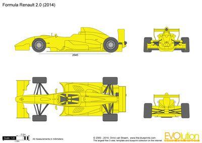 Formula Renault 2 0 Automotive Artwork Toy Car Car Drawings