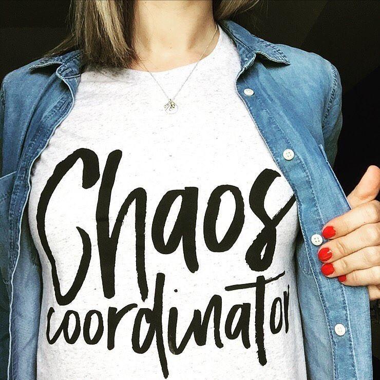 Chaos Coordinator Tee- The Original!!!