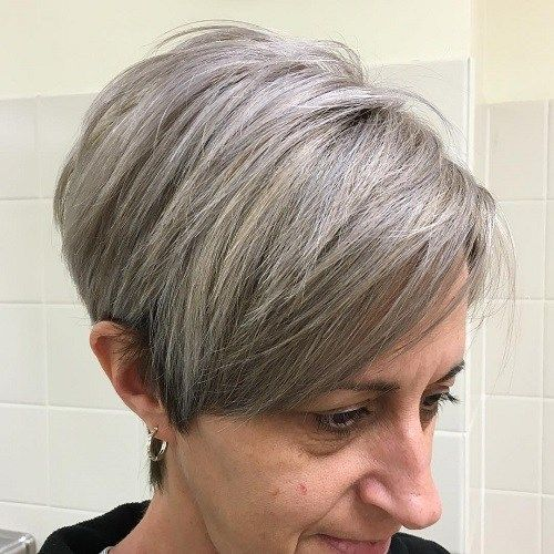 wedge haircuts for gray hair 20 wonderful wedge haircuts the sixties bangs and 20 quot 3301