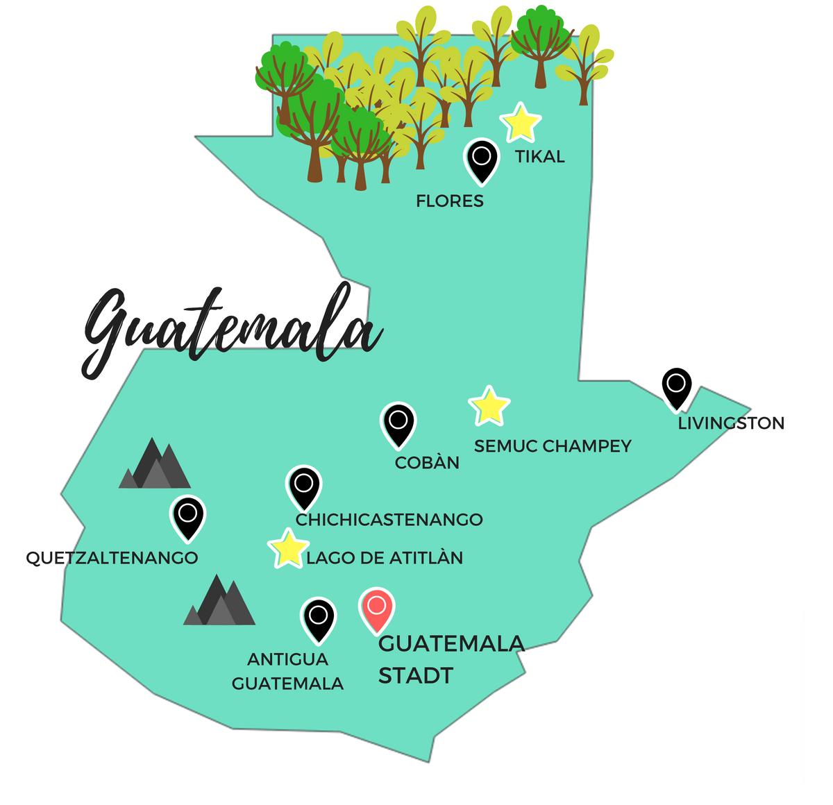 Tipps Fur Deine Guatemala Reise Backpacking Durch Das Land Der Maya Guatemala Reisen Zentralamerika