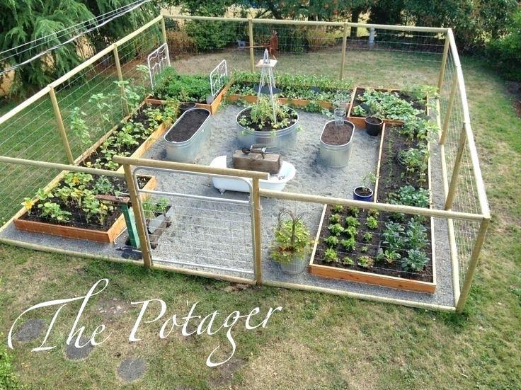 building a vegetable garden best garden fencing ideas on fence ...