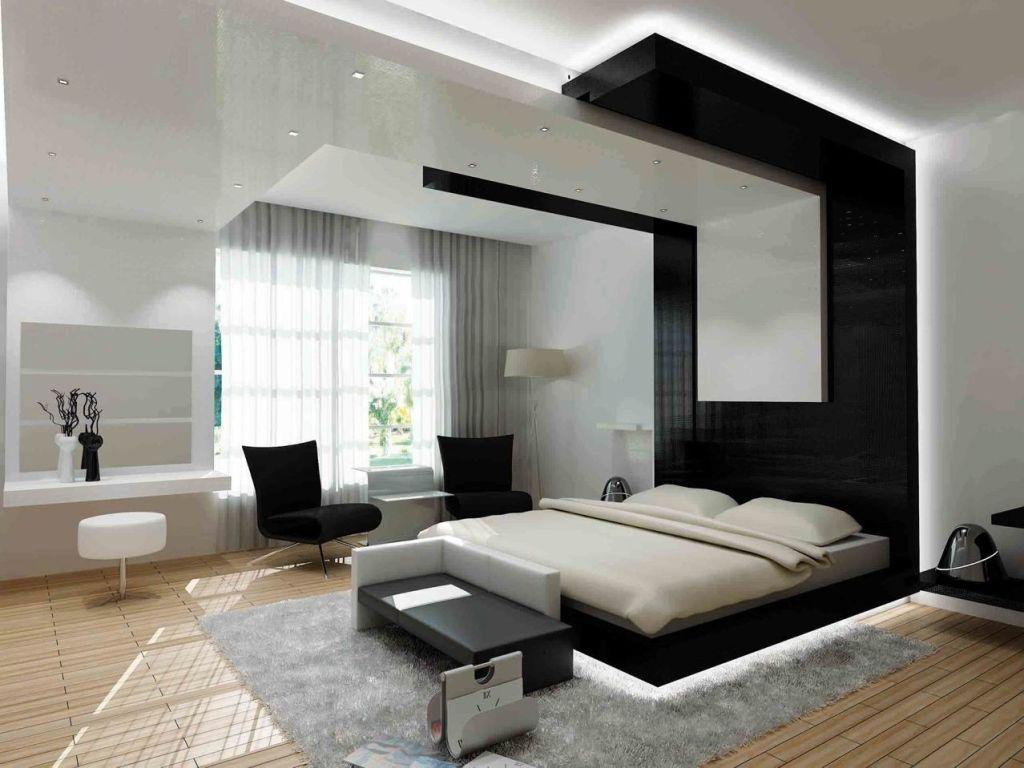 Luxury master bedroom plan  Bedroom Modern Bedroom Layout With Platform Bed And Luxury