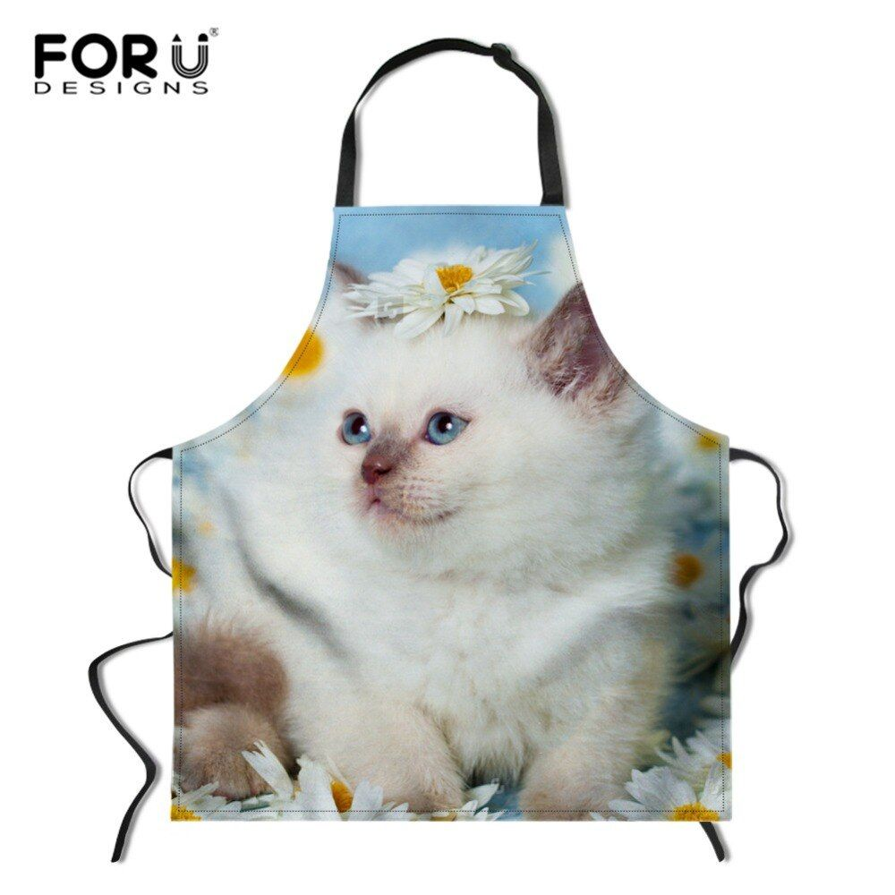 6 Feet Back Right Meow Funny Cat Stay Away Kitten Apron By Artdise In 2020 Right Meow Funny Cats Kitten