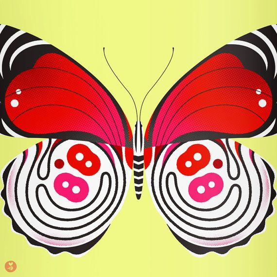 88 butterfly limited edition print $40.00