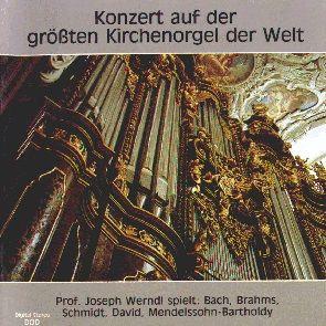 Prachtige cd van het orgel in de Dom zu Passau.