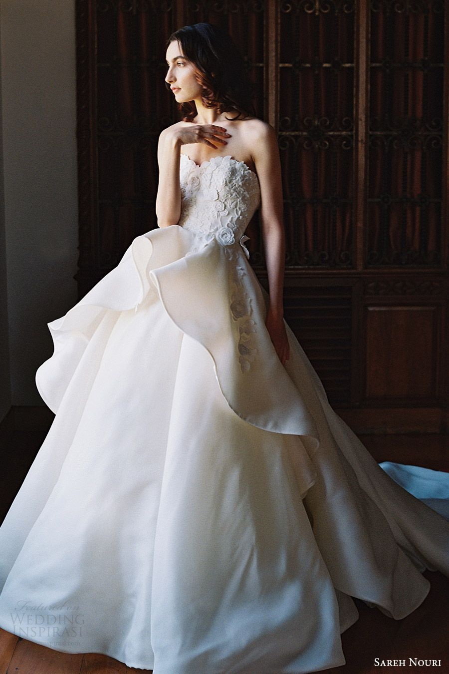 Sareh Nouri Bridal Spring 2017 Wedding Dresses