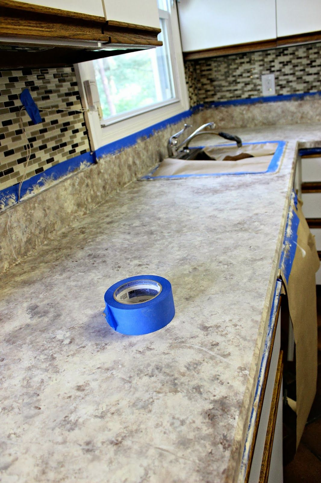 How To Paint Your Countertops Cheap Kitchen Countertops