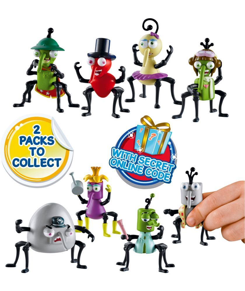 Buy Bin Weevils Character Figures 4 Pack at Argos.co.uk