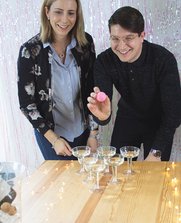 How To Play Prosecco Pong
