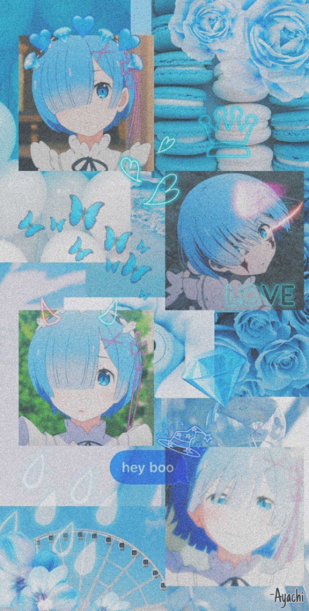Rem Re Zero In 2020 Anime Wallpaper Anime Wallpaper Phone Anime Wallpaper Iphone