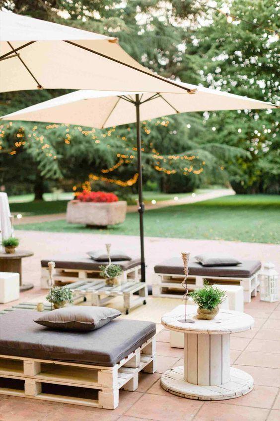 48 Practical Outdoor Party Decor Ideas Rustic Garden Party